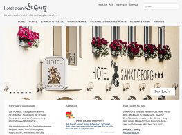 Screenshot Hotel St. Georg
